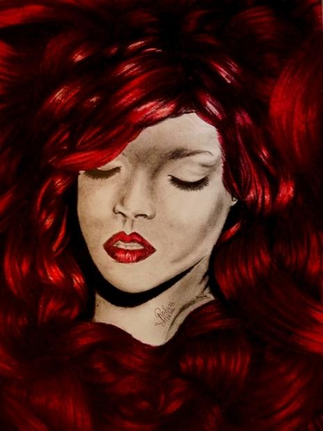Rihanna por Rohan